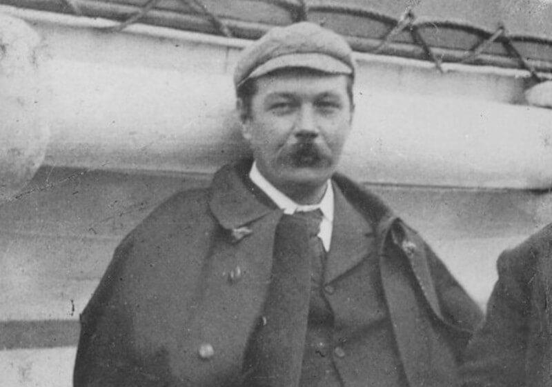 6 curiosidades sobre Arthur Conan Doyle