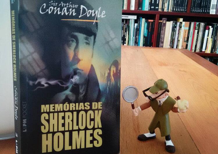 Memórias de Sherlock Holmes, um clássico da literatura policial