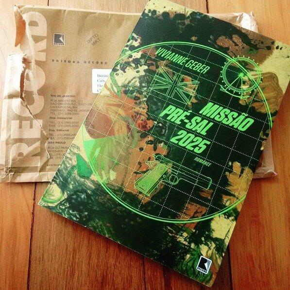 Missão Pré-Sal 2025, um romance de espionagem brasileiro