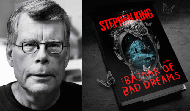 Stephen King é o vencedor do melhor conto no Edgar Awards