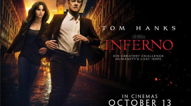 Professor Langdon passa o diabo em Inferno, adaptação de Dan Brown