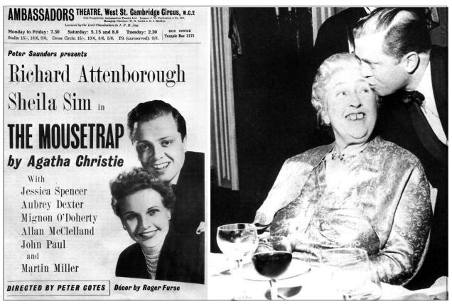 Em 1952, a peça A Ratoeira estreava em Londres