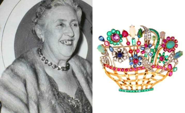 Broche de Agatha Christie vai a leilão pela Sotheby's
