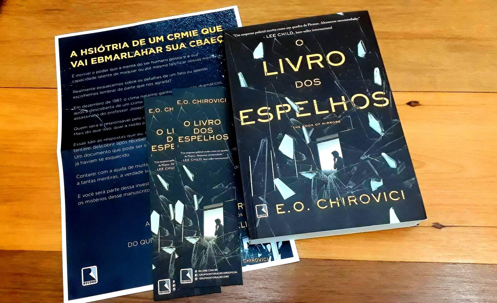 RESENHA | O livro dos espelhos, E. O. Chirovici
