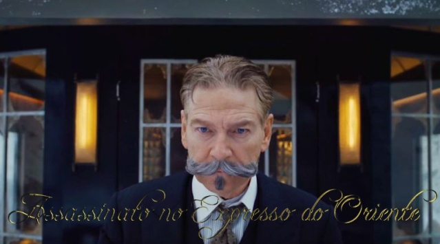 Kenneth Branagh fala sobre o bigode de Poirot em Assassinato no Expresso do Oriente