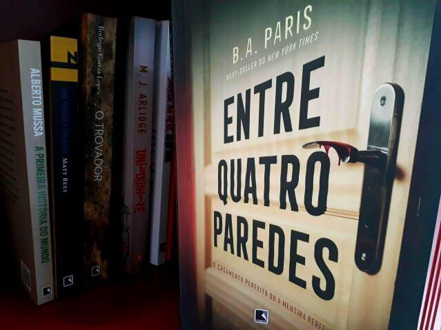 Em Entre Quatro Paredes, de BA Paris, o medo é o melhor freio de todos