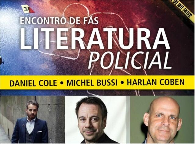 Editora Arqueiro promove uma série de encontros para fãs de literatura policial
