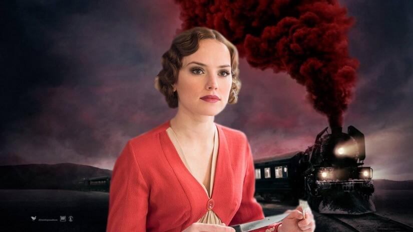"""Daisy Ridley: """"Sempre quis fazer qualquer coisa de Agatha Christie"""""""