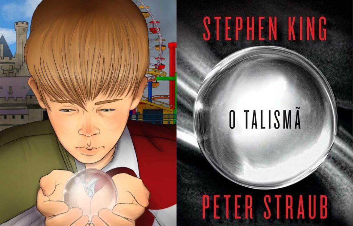 Roteirista compartilha ilustração de O Talismã, adaptação de Stephen King