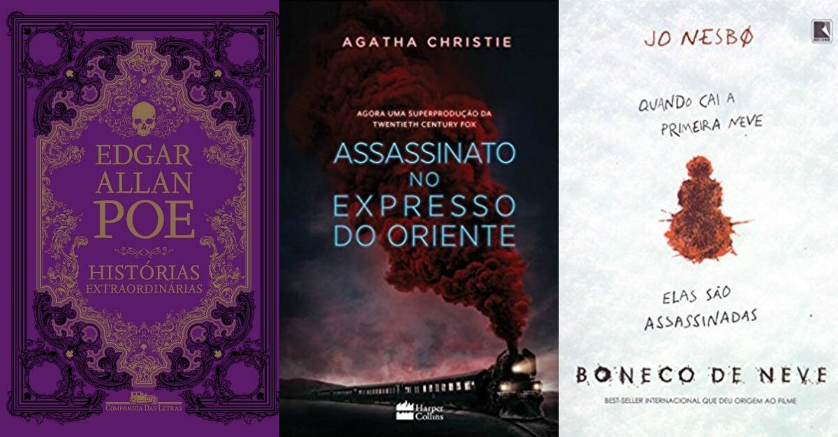 10 livros de suspense e mistério para presentear