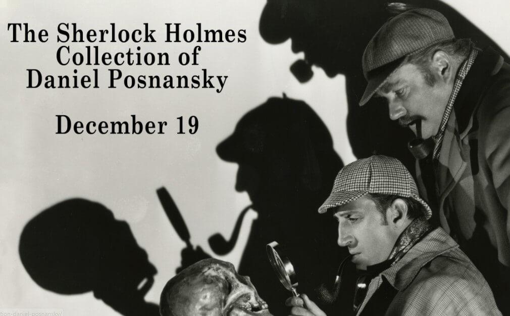 Maior coleção com itens de Sherlock Holmes vai a leilão