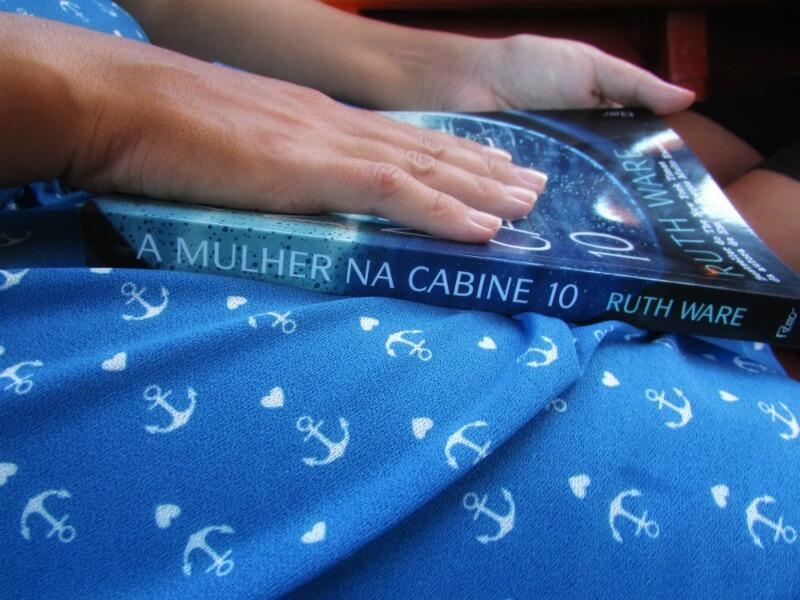 A mulher na cabine 10, de Ruth Ware