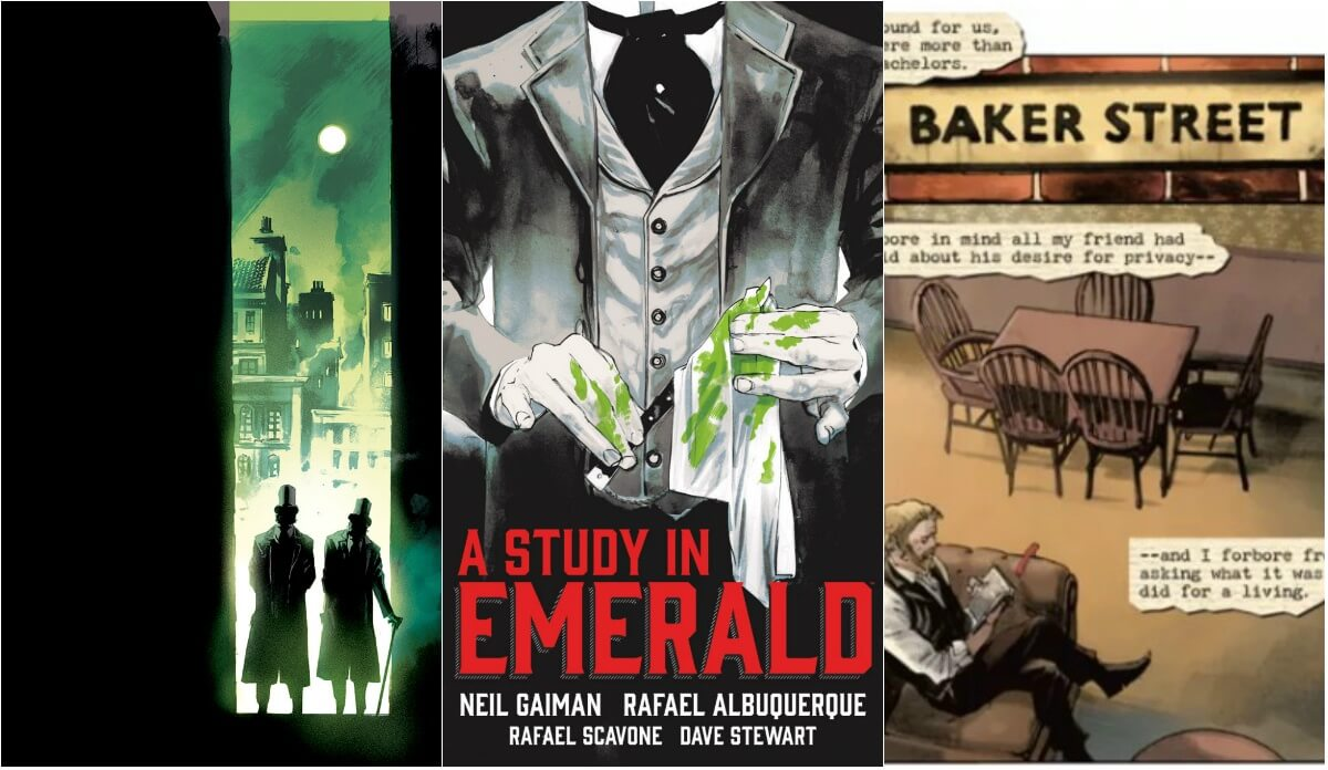 QUADRINHOS | Veja imagens do conto de Neil Gaiman inspirado em Sherlock Holmes