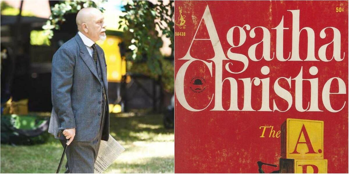 Divulgadas novas imagens de John Malkovich no papel do detetive Poirot