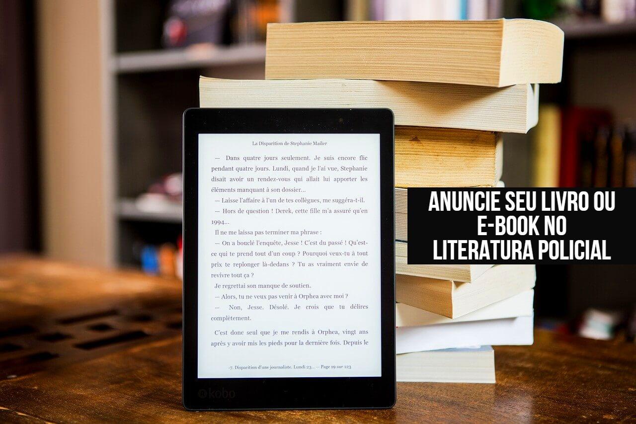 MÍDIA KIT | Anuncie seu livro ou e-book no Literatura Policial