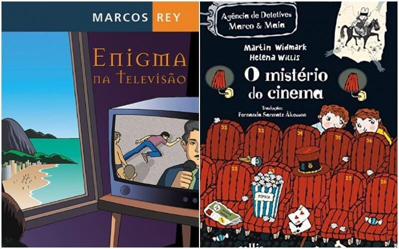 23 livros de suspense e mistério para crianças