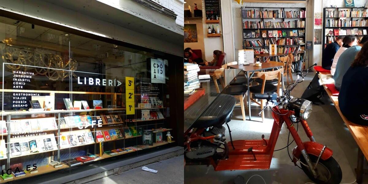 Livraria Caótica, um lugar para ser extravagante