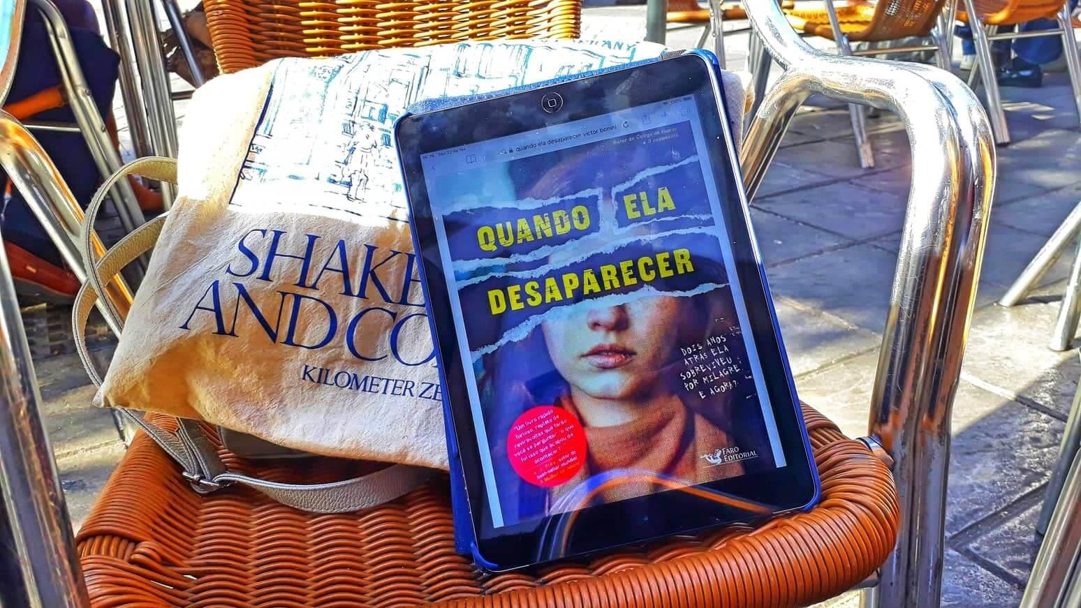 Final surpreendente marca terceiro romance policial de Victor Bonini