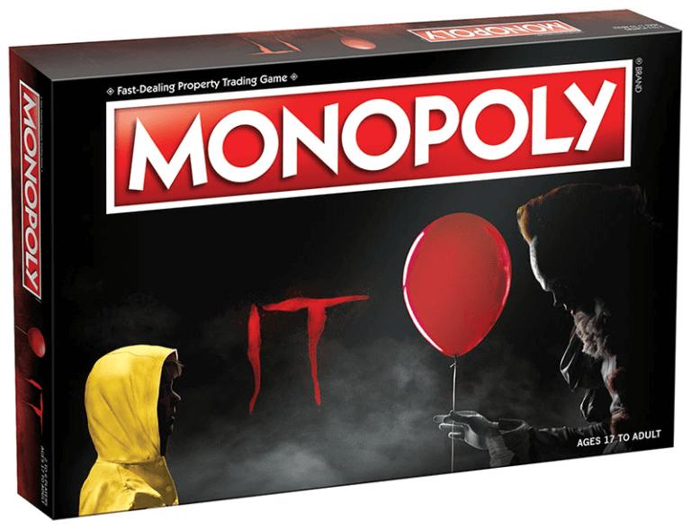Perca todo o seu dinheiro para Pennywise no novo Monopoly de It