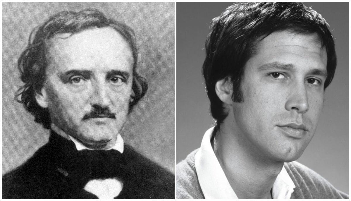 O que Edgar Allan Poe e Chevy Chase têm em comum?