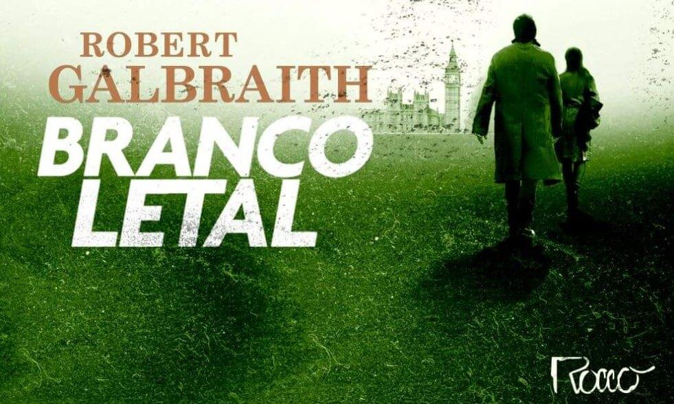 Editora Rocco confirma lançamento de Branco Letal, romance policial de JK Rowling