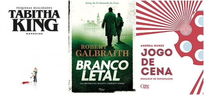 LANÇAMENTOS | Crime, suspense e terror em maio