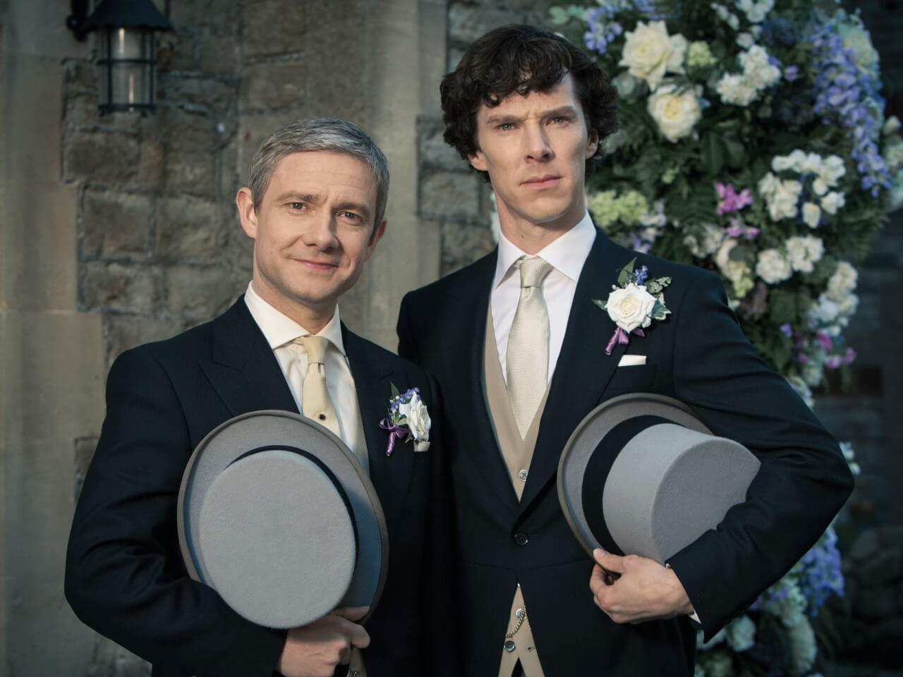 """Martin Freeman: """"Fãs de Sherlock queriam um final gay"""""""