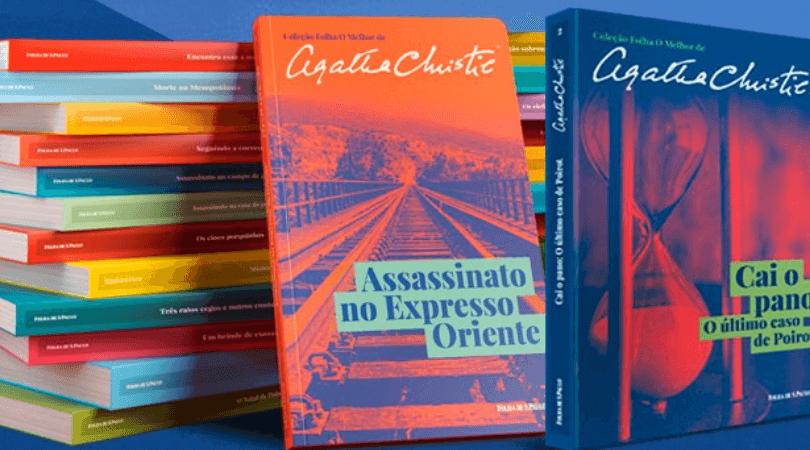 Folha lança coleção com 24 livros de Agatha Christie