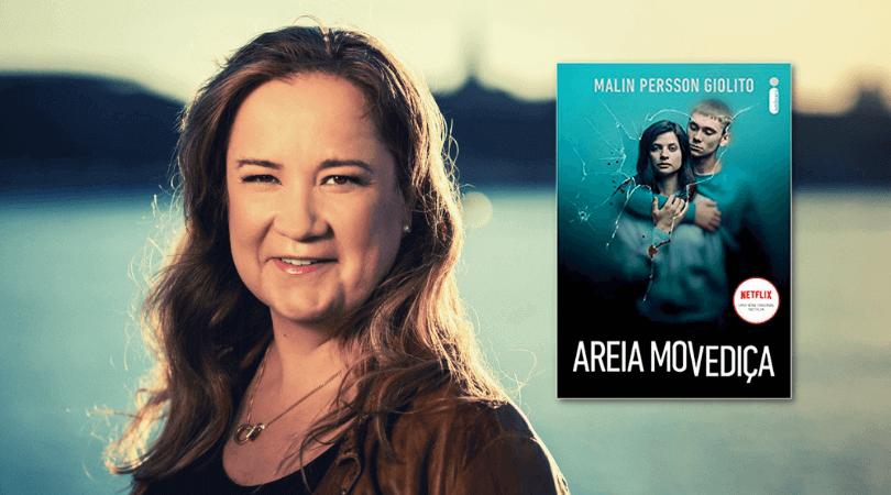Malin Persson Giolito é a autora de Areia Movediça, livro que deu origem à série da Netflix