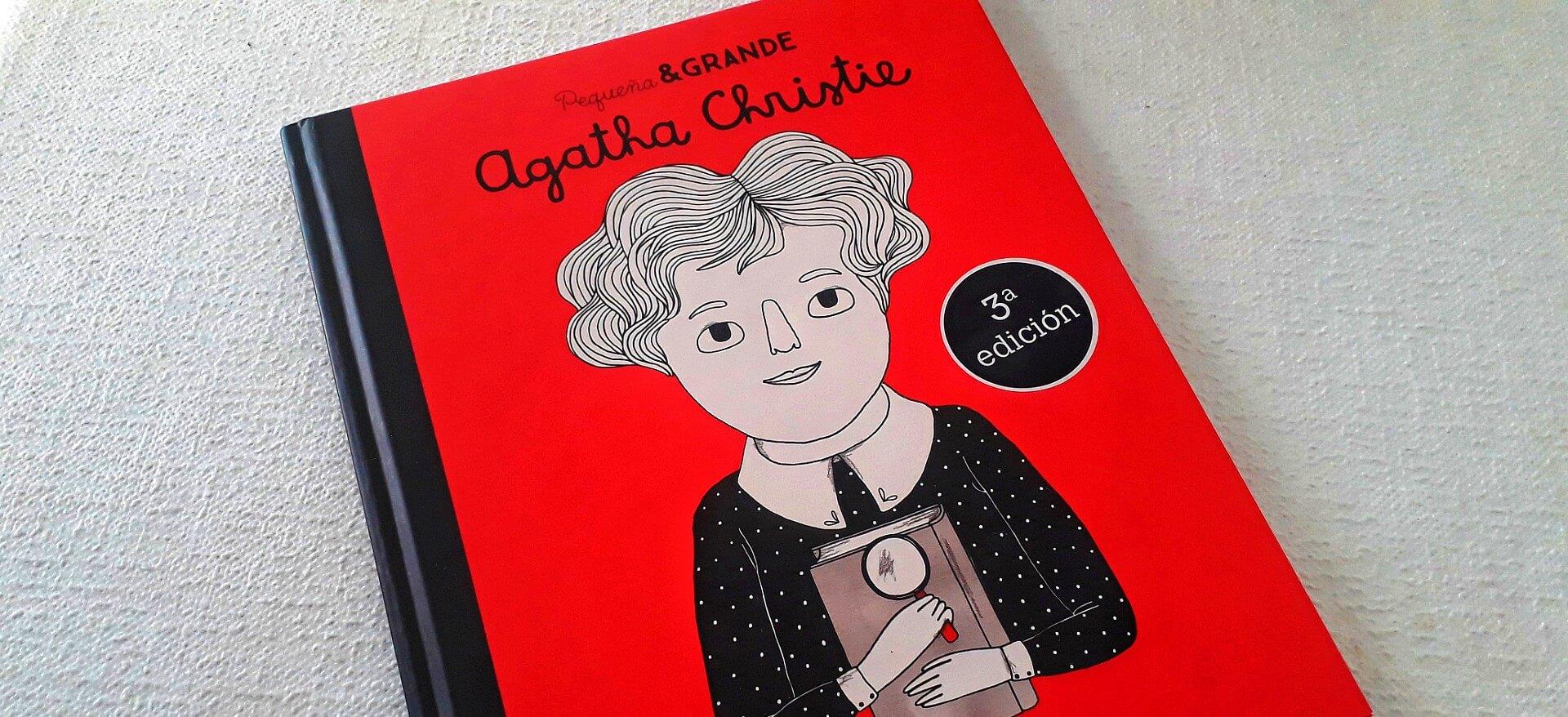 Pequeña & Grande, uma biografia ilustrada de Agatha Christie