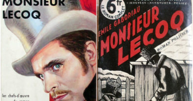 Émile Gaboriau e o detetive Monsieur Lecoq, inspiração para Sherlock Holmes