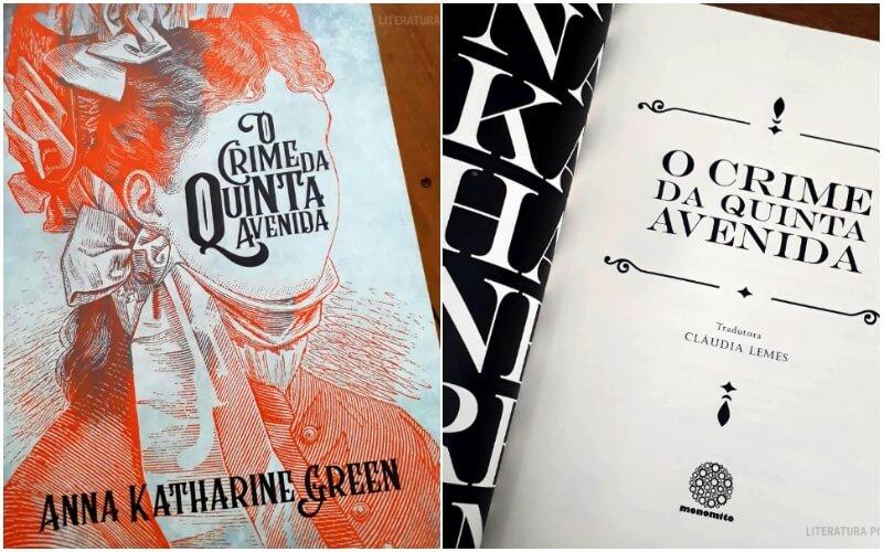 O CRIME DA QUINTA AVENIDA | Romance policial de 1878 de Anna Katharine Green