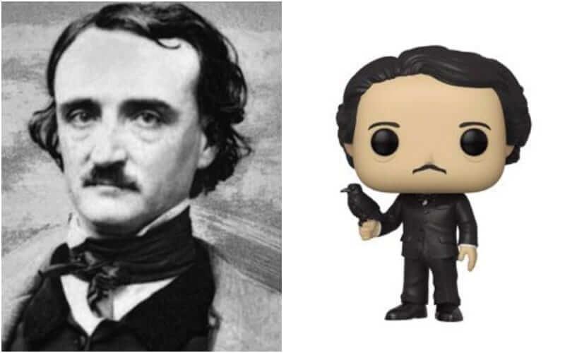 Edgar Allan Poe vira colecionável da Funko