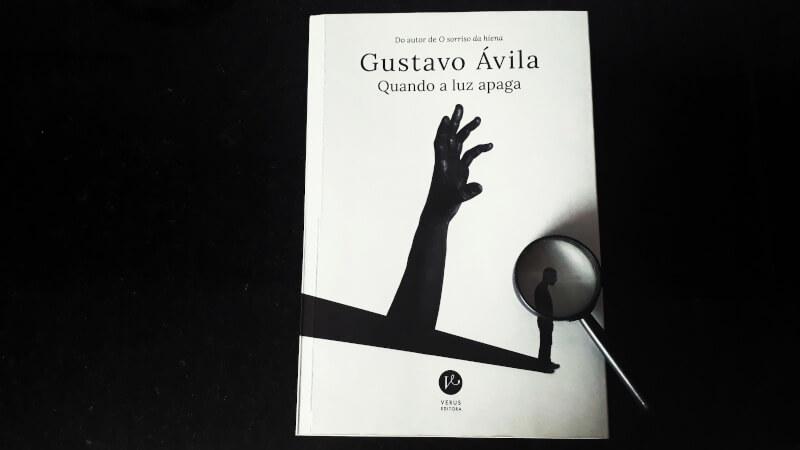 VÍDEO + SORTEIO | Quando a Luz Apaga é o segundo romance policial de Gustavo Ávila
