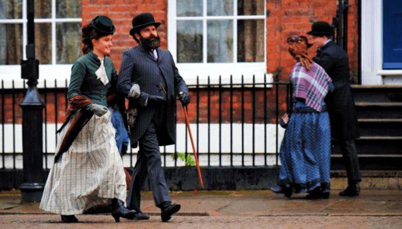 OS IRREGULARES   Liverpool é palco da nova série sobre Sherlock Holmes; veja as fotos