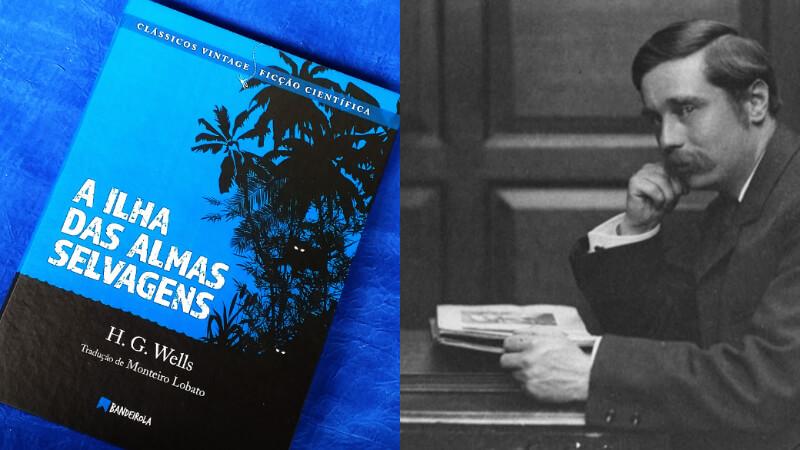 APOIE NO CATARSE   A ilha das almas selvagens, clássico de HG Wells