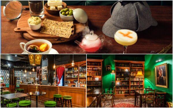 Para entrar neste bar temático de Sherlock é preciso marcar uma consulta