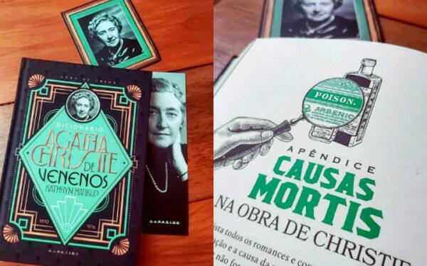 Quais os principais venenos usados nos livros de Agatha Christie?