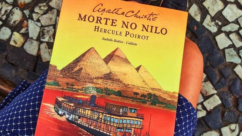 QUADRINHOS | Morte no Nilo, de Agatha Christie