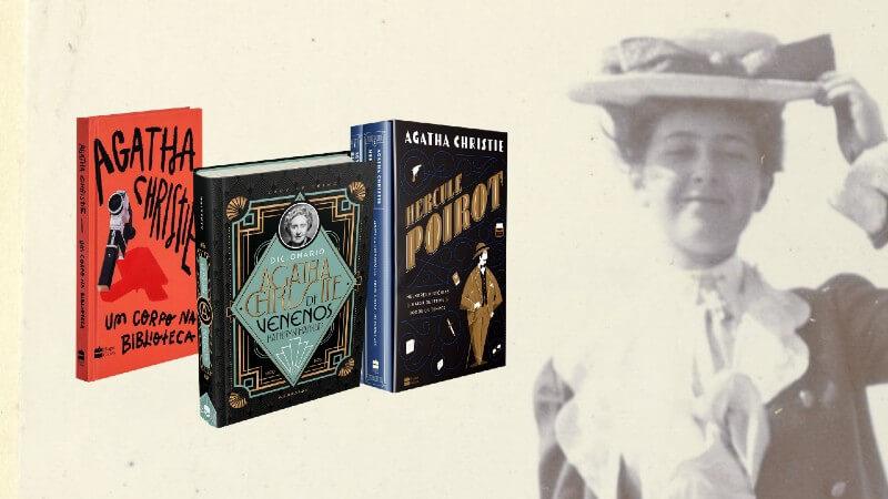 Promoção de Natal vai sortear uma cesta literária para fãs de Agatha Christie