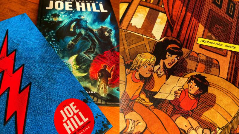 JOE HILL | Dark Collection v. 1: A Capa