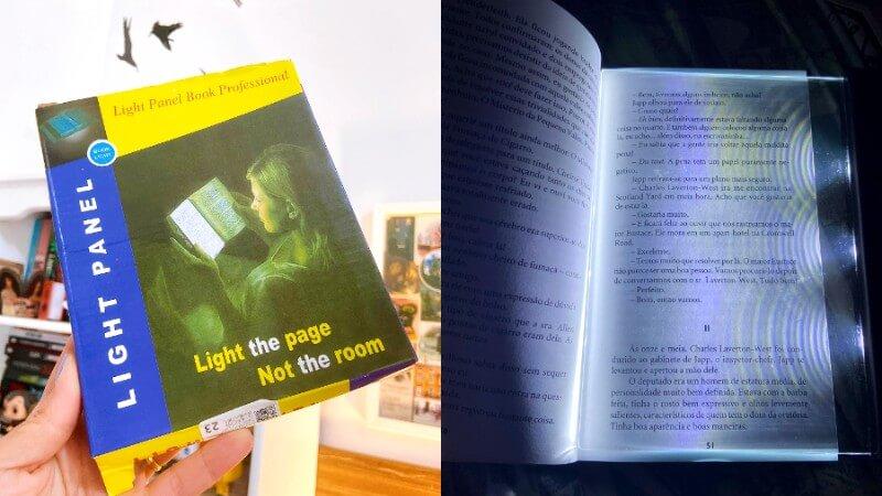 Painel de luz para leitura: vale a pena?