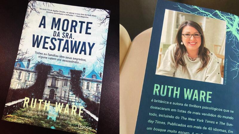 VÍDEO + SORTEIO | A morte da Sra Westaway, de Ruth Ware