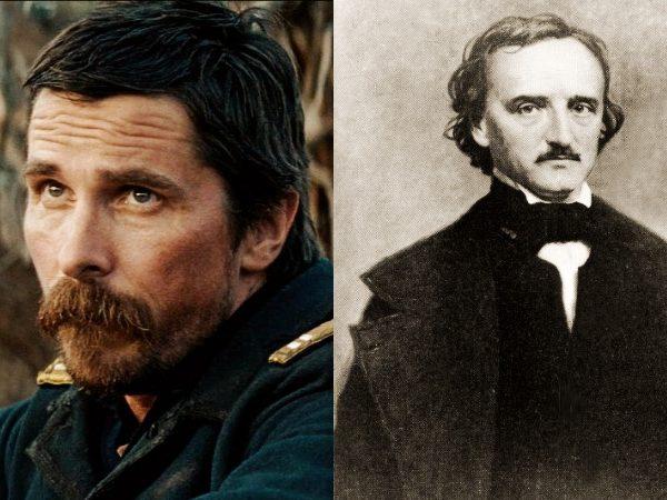 Christian Bale terá ajuda de Edgar Allan Poe na caça a um serial killer